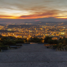 by Rui Quinta - Landscapes Sunsets & Sunrises ( braga, sunset, portugal, city )