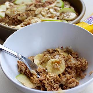 Banana Cinnamon Baked Oatmeal