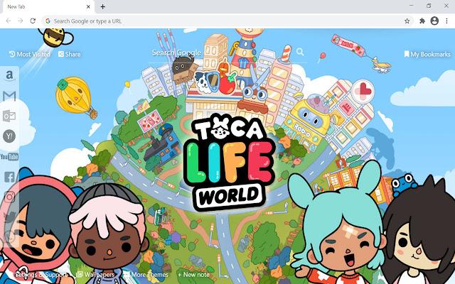 Toca Life World Wallpaper