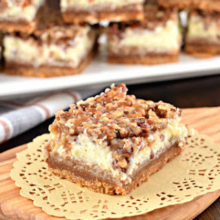 Pecan Pie Cheesecake Bars