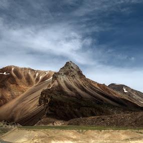 Entering the Golden Lands - Ladakh by Rohit Chawla - Landscapes Mountains & Hills ( cosurvivor, ladakh, landscape, himalayas, golden lands, manali leh highway )