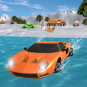 Water Surfer Floating Luxury Car