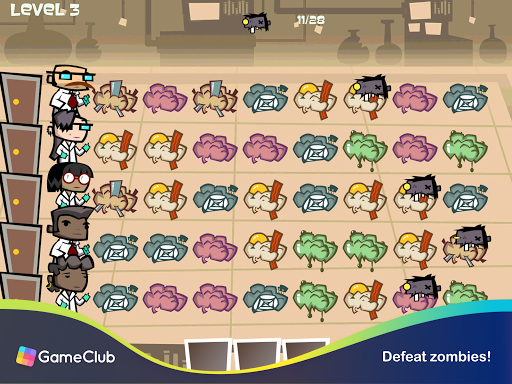 Zombie Match Defense: Fun, Brainy Match-3 Puzzles 1.2.78 screenshots 7