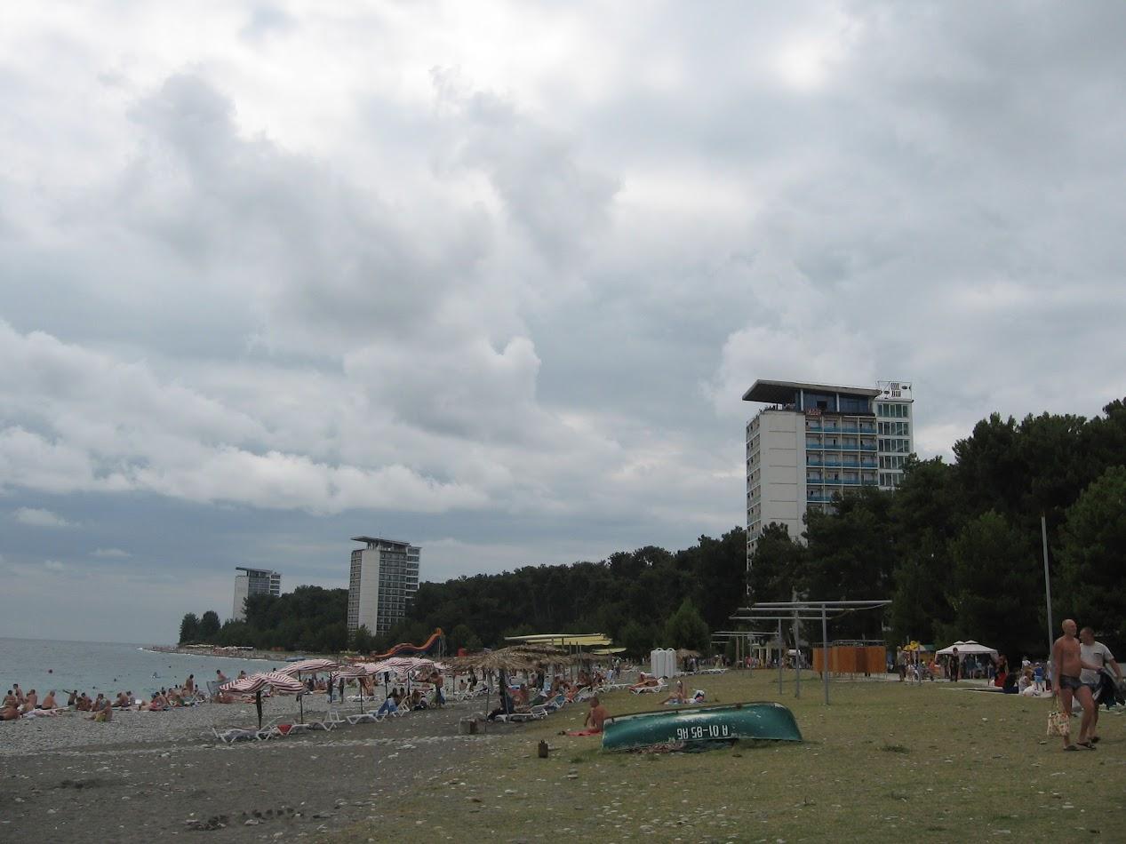 Пицунда пляж