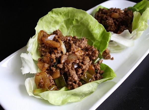 Beef Lettuce Wrap Recipe