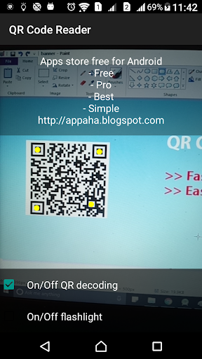 QR Code Scanning Easy screenshot 1