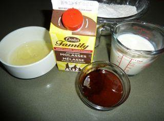 """Cake method:Prepare two 8""""round layer cake pans by buttering and lining with wax paper..."""