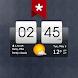 Sense Flip Clock & Weather (Ad-free) - Androidアプリ