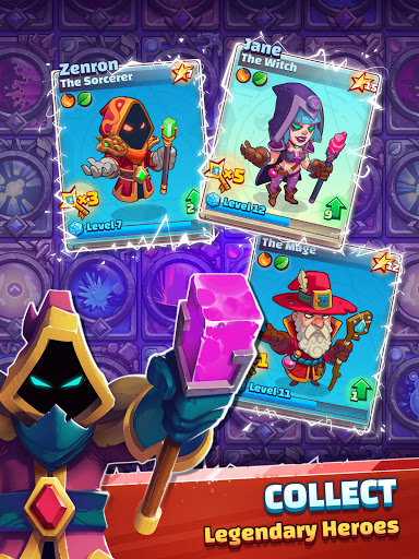 Super Spell Heroes - Magic Mobile Strategy RPG apktram screenshots 9