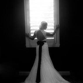 Shining Light by Christie Lynn - Wedding Bride ( bridal, window, dress, wedding, woman )