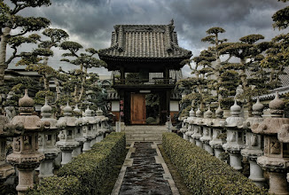 Photo: A small but very beautifully constructed Buddhist shrine in Kojima, Japan.