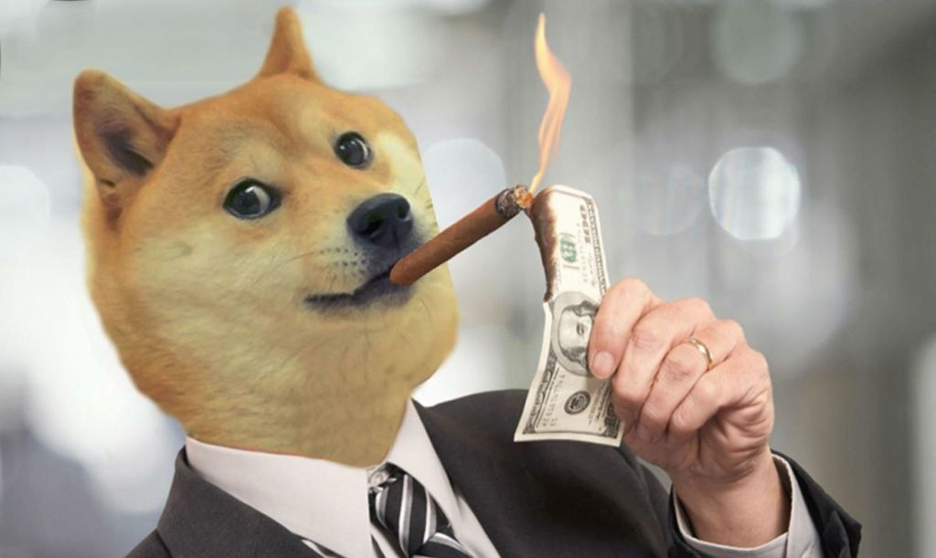 Funny Doge Coin Memes