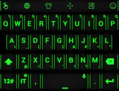 Keyboard Theme Neon Green for PC