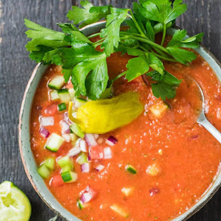 Zesty Gazpacho (Low-Carb, Gluten-Free)