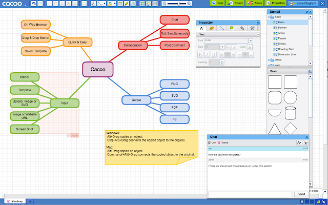 Cacoo diagramming real time collaboration chrome web store works with google drive ccuart Gallery
