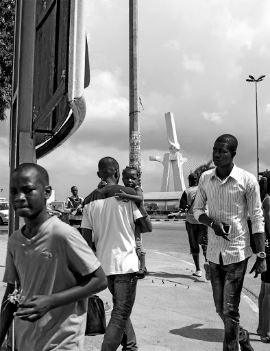 Image from Guy Tillim's photobook 'Dar es Salaam and Abidjan'.