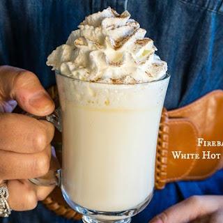Fireball Whisky White Hot Chocolate.