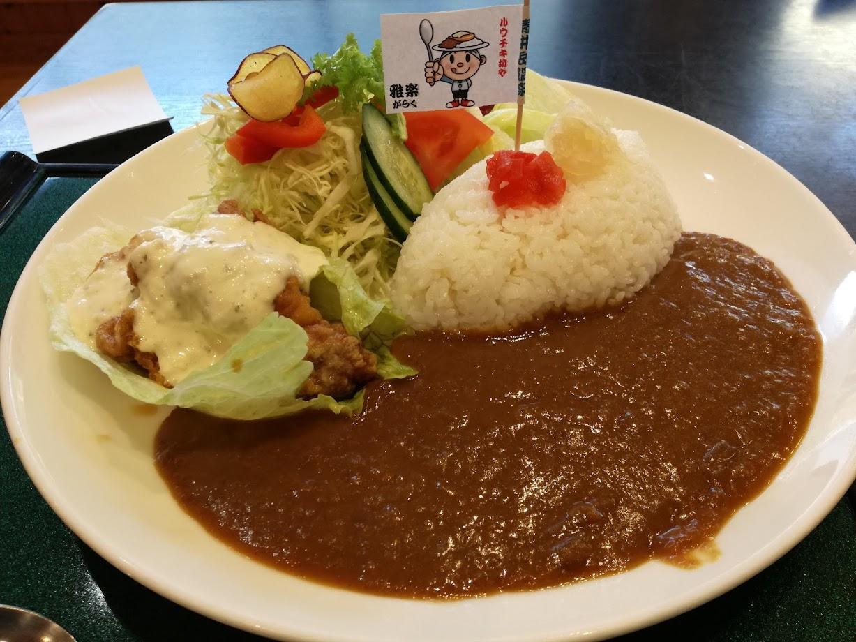 青井岳温泉 レストラン雅楽でランチを食べました。走って温泉に入って食べるって最高に快感です♪