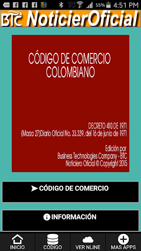 Código de Comercio Colombiano.