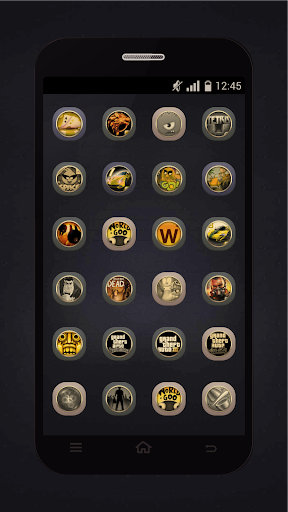 Gold Icons Pro -Cool Icon Pack  screenshots 4