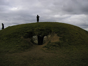 Photo: Mound of the Hostages, the highest point on the Hill of Tara