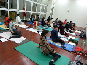 Photo: 20110316健康活力瑜珈002