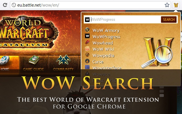World of Warcraft Search