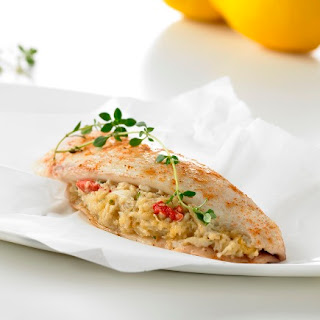 Crab Meat Stuffing.