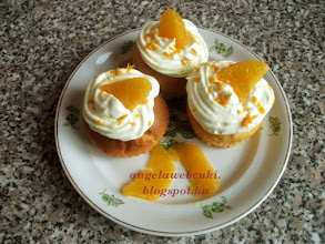 Photo: Narancsos muffin recept