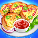 Garlic Bread Maker - Food cooking game icon