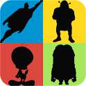 Guess the Shadow Quiz Game - Characters Trivia icon