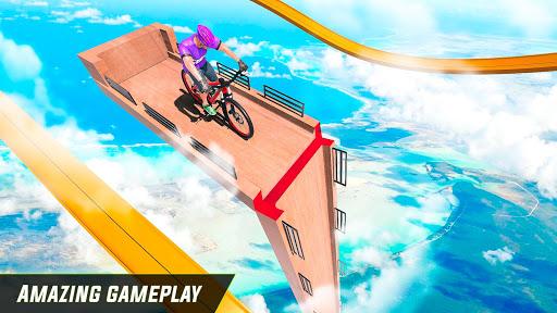 BMX Cycle Stunt Game: Mega Ramp Bicycle Racing modavailable screenshots 12