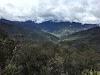 Indonesia. Papua Baliem Valley Trekking. Beligama village in the distance