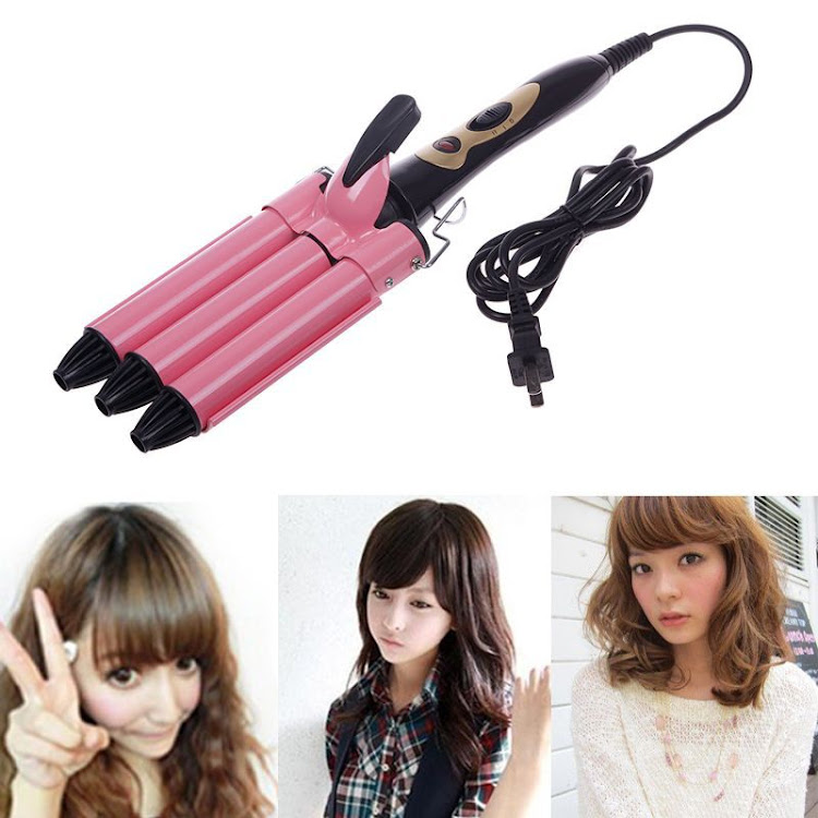 3 Barrels Waver Hair Iron (19mm) by Supermodels Secrets
