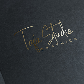GOLDIE FONT 2 by Muhammad Fadhil - Typography Single Letters ( mock up, signature, gold font, gold logo, font )