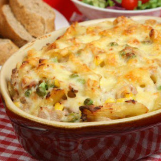 Tuna Casserole With Cream Of Mushroom Soup And Potato Chips Recipes