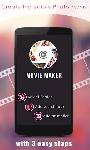 android Movie Maker Screenshot 0