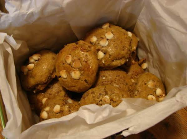 White Chocolate Pumpkin Scones W/craisins Recipe