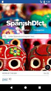 SpanishDict Translator - náhled