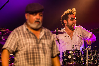 Photo: Jazz Rally 2014 - Incognito - Bluey Maunick and Matt Cooper on Drums
