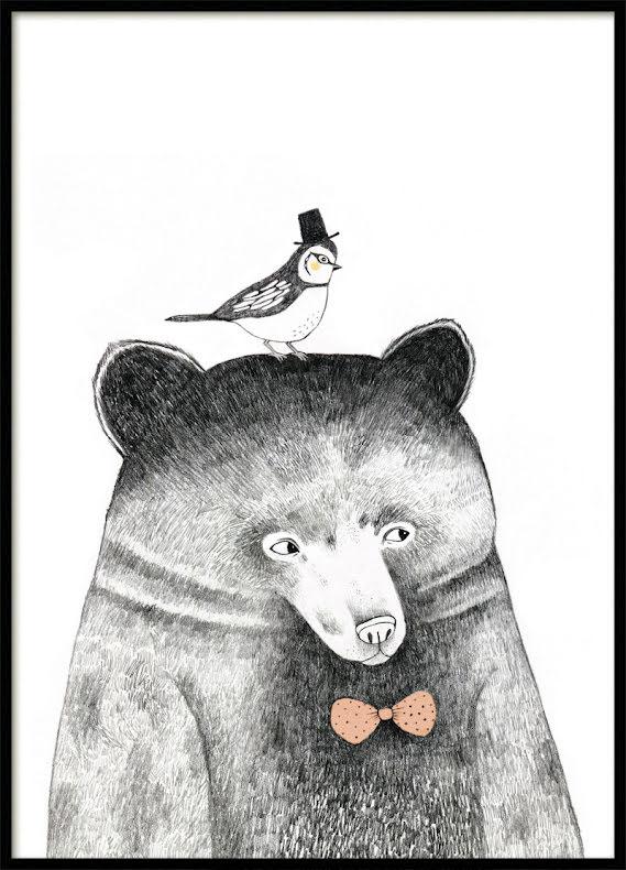 Björn och Fågel , Barnposter