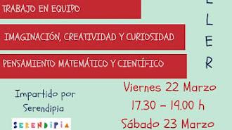 Talleres infantiles gratuitos en Serendipia.