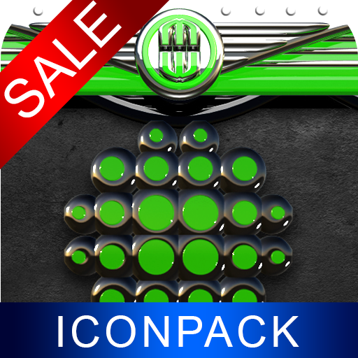 Green Dragon HD Icon Pack