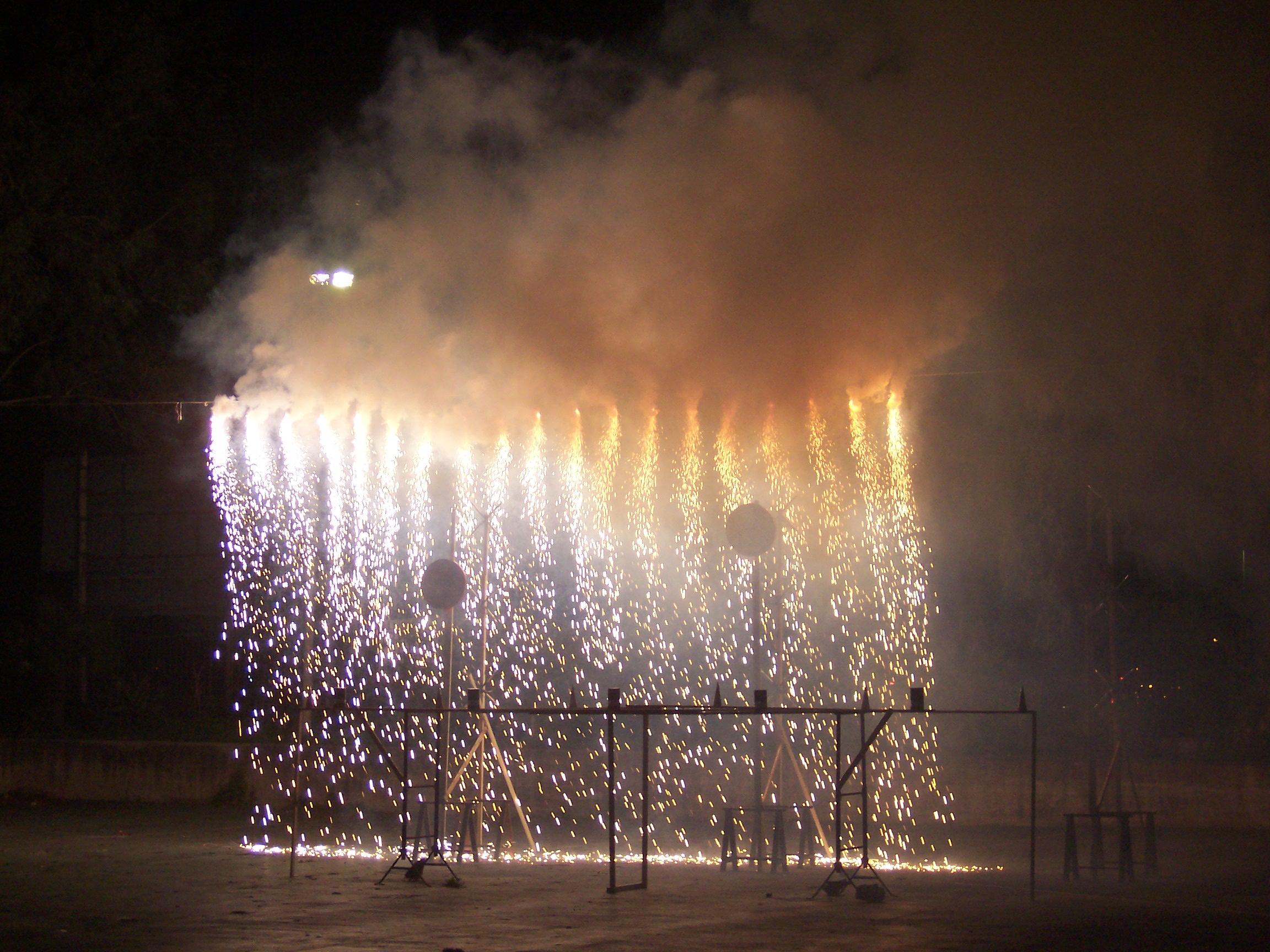 fuochi d'artificio di Antonio De Felice