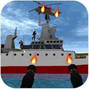 Battle Warship -  WW2 Navy Gunner Gunship Battle