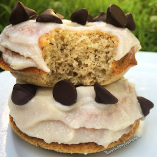 Holy Cannoli Protein Donuts.