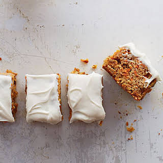 Spiced Carrot Cake with Cream Cheese Frosting.