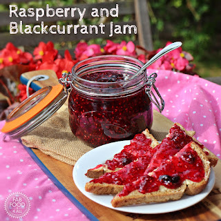 Raspberry and Blackcurrant Jam