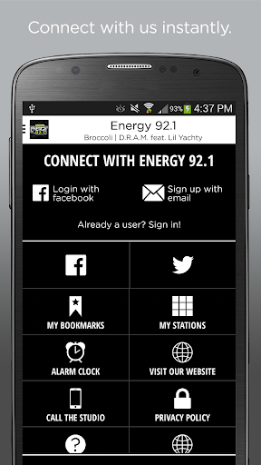 Energy 92.1  screenshots 2