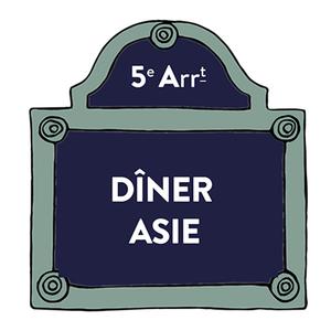 Diner nomade cuisines d'asie